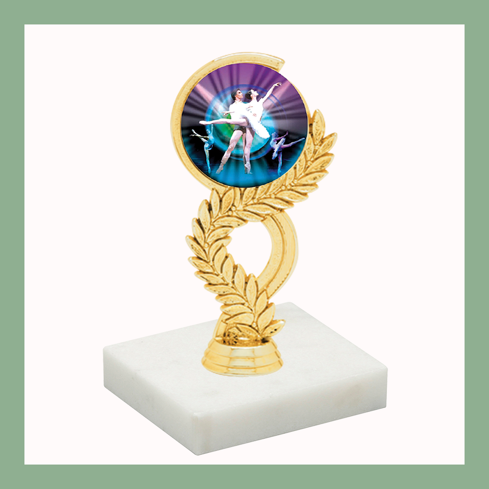 Dance Laurel Mylar Figurine Trophy