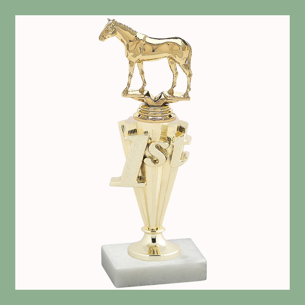 Equestrian Place Trophy
