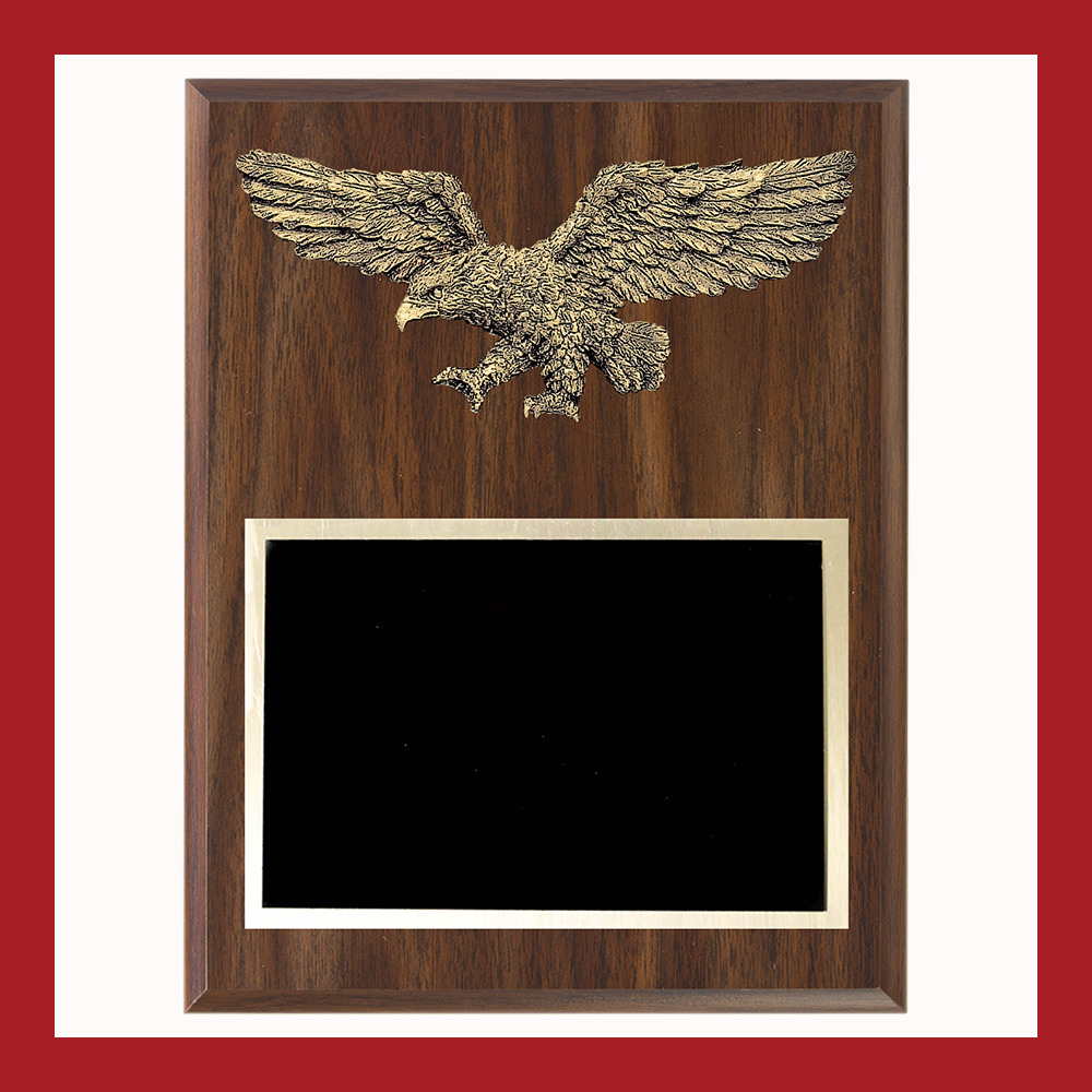 "9"" x 12"" Resin Eagle Plaque"