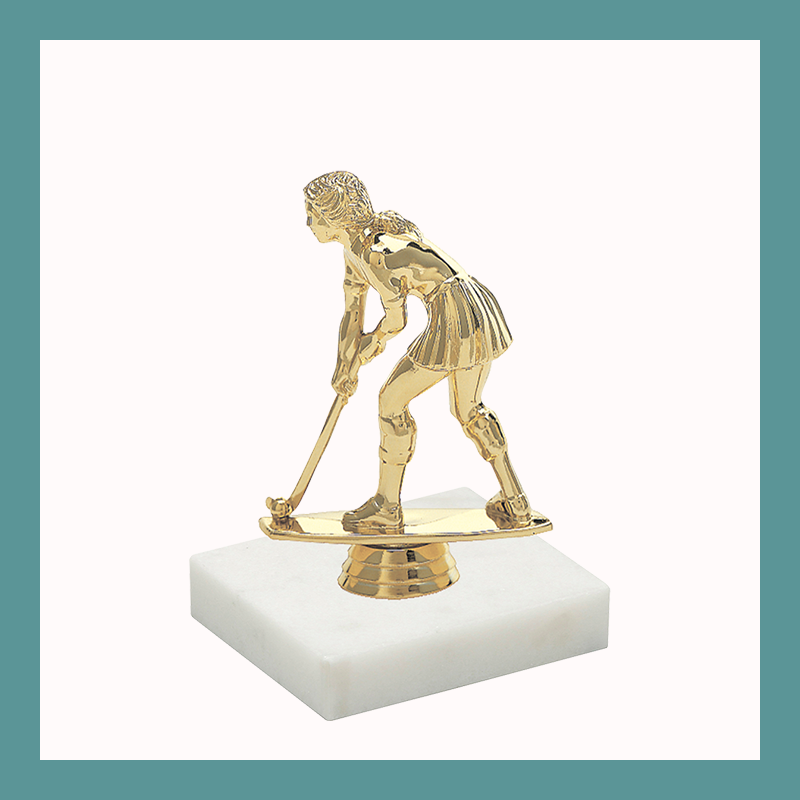 Field Hockey Figurine Trophy