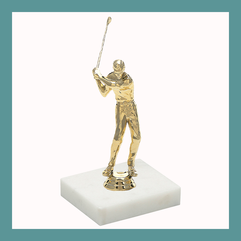 Golf Figurine Trophy