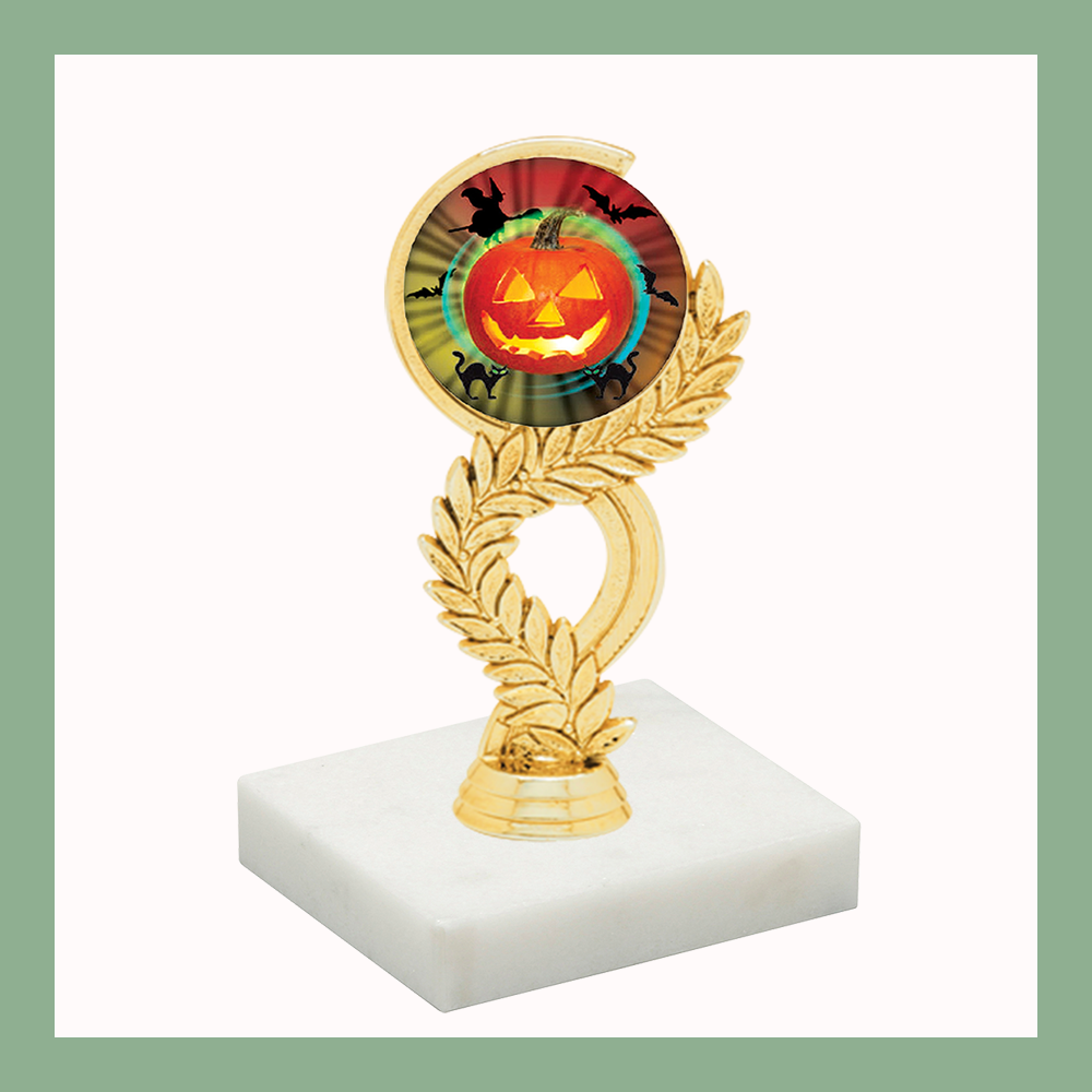 Holiday Laurel Mylar Figurine Trophy