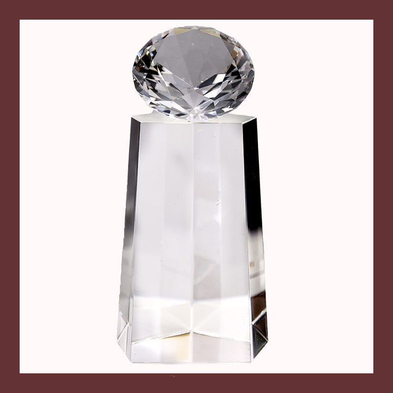 Diamond Statue Crystal