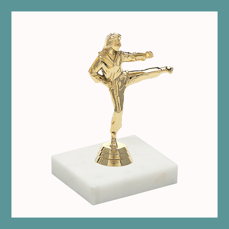 Martial Arts Figurine Trophy