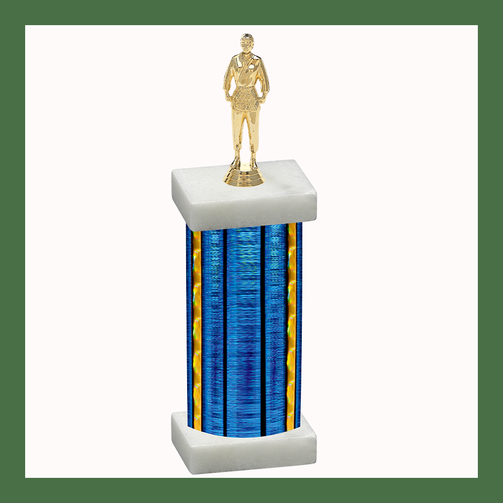Martial Arts Column Trophy
