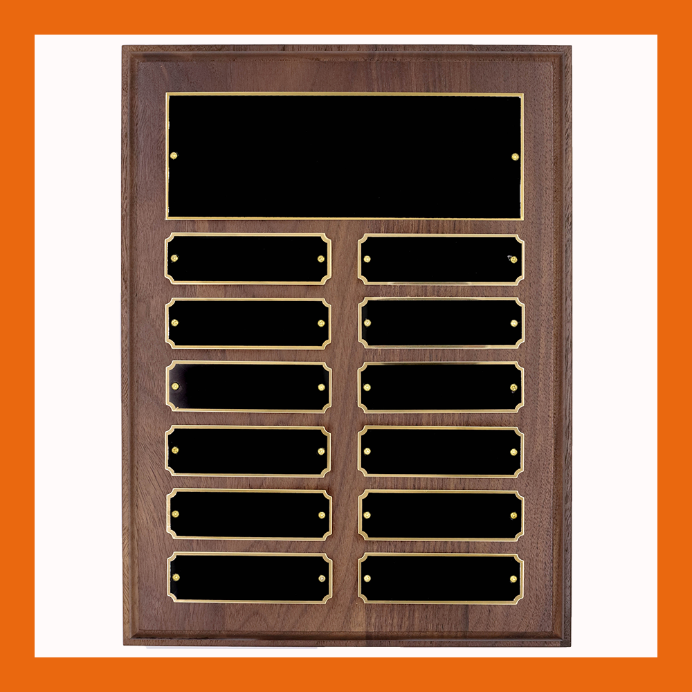 12-Plate Notched Perpetual Plaque
