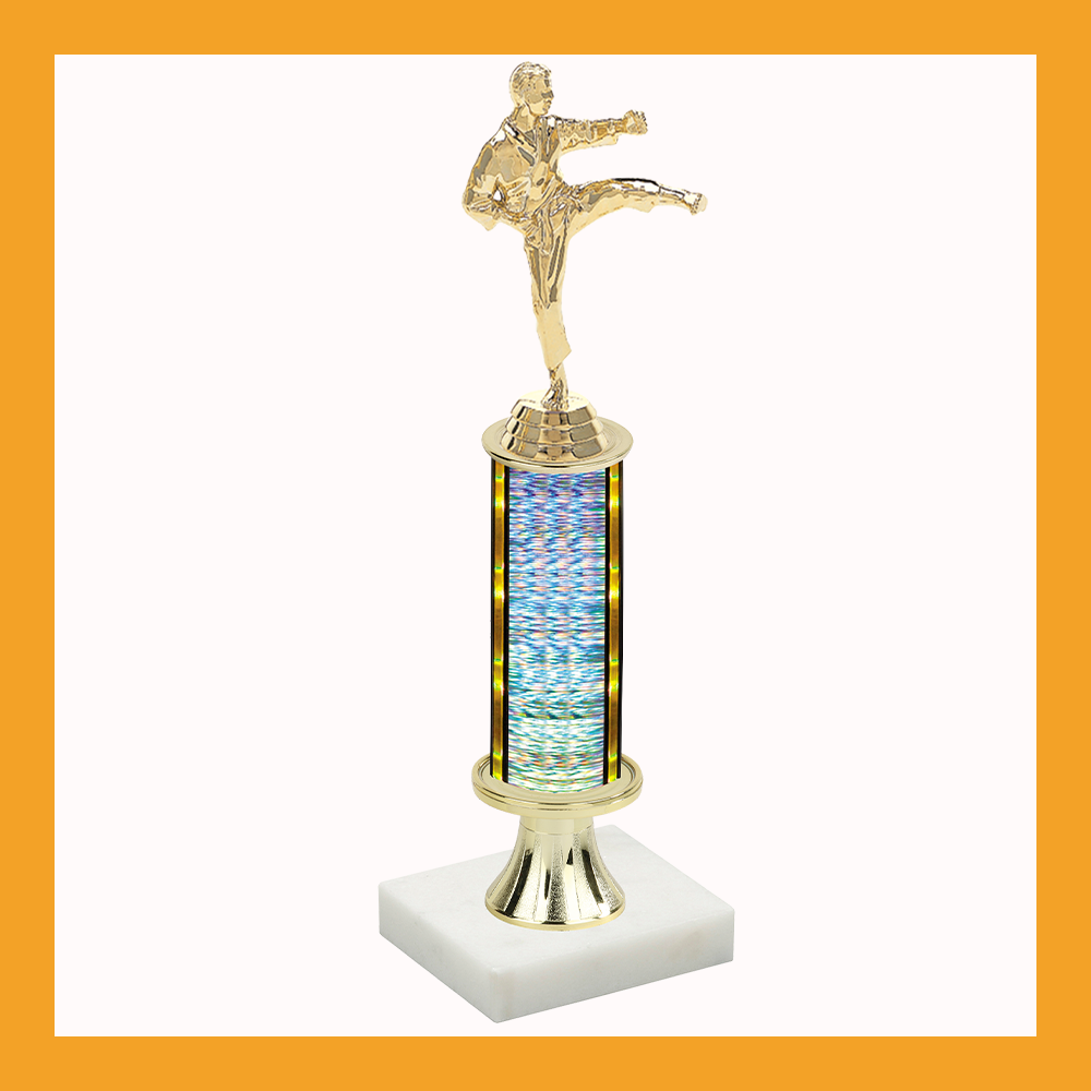Martial Arts Pedestal Trophy