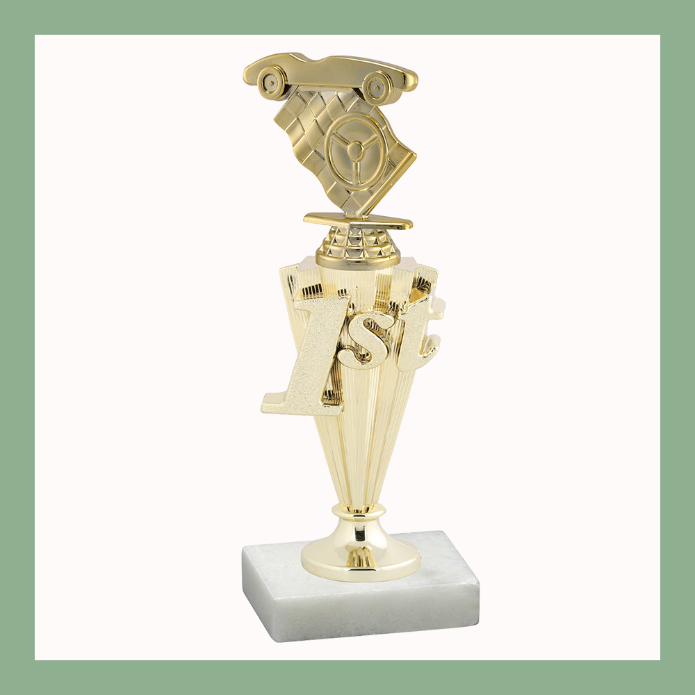 Pinewood Derby Place Trophy