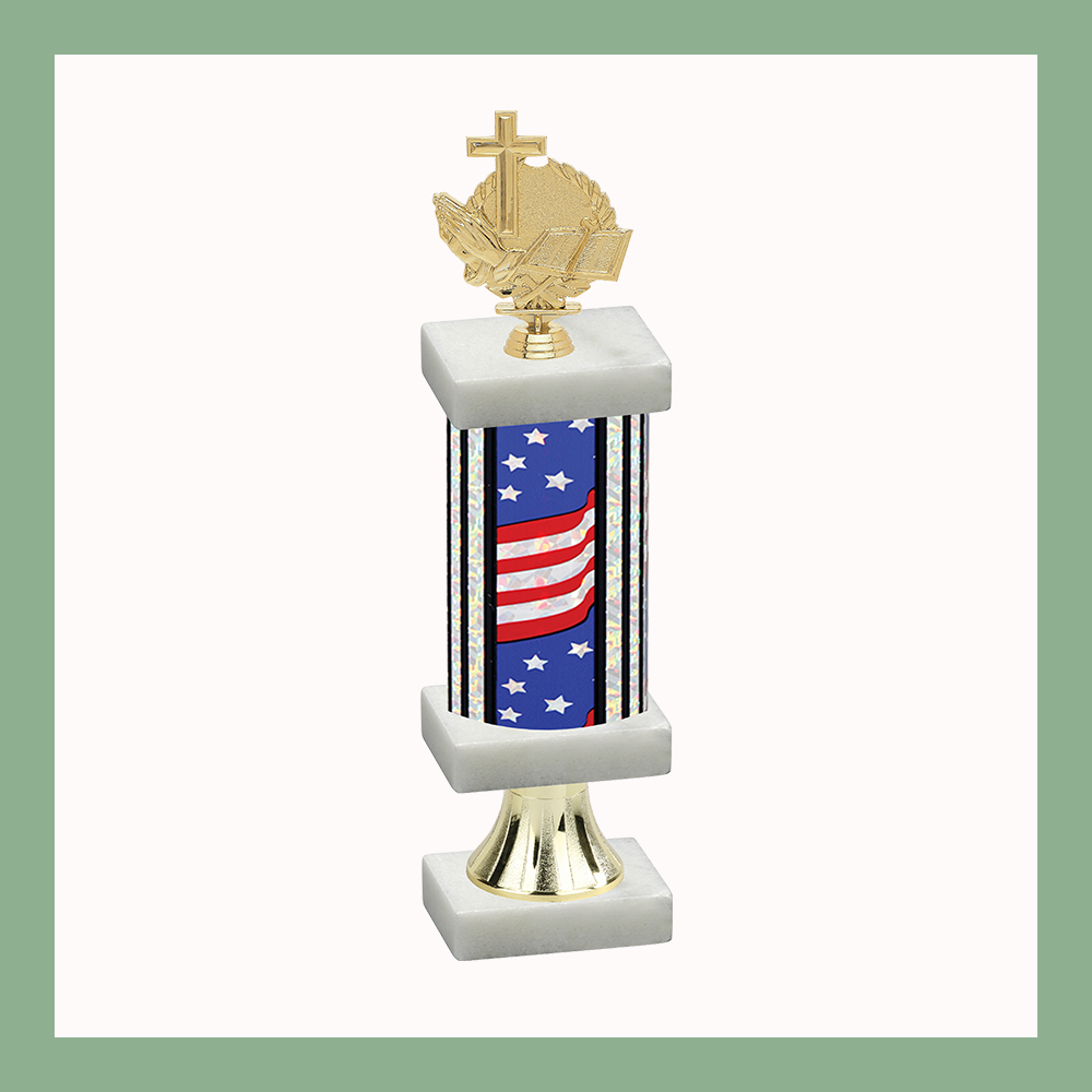 Religion Column Pedestal Trophy