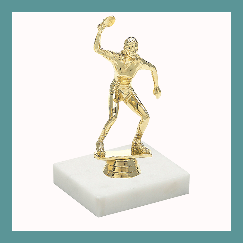 Racquetball Figurine Trophy