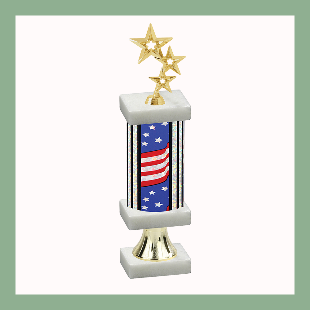 Star Column Pedestal Trophy