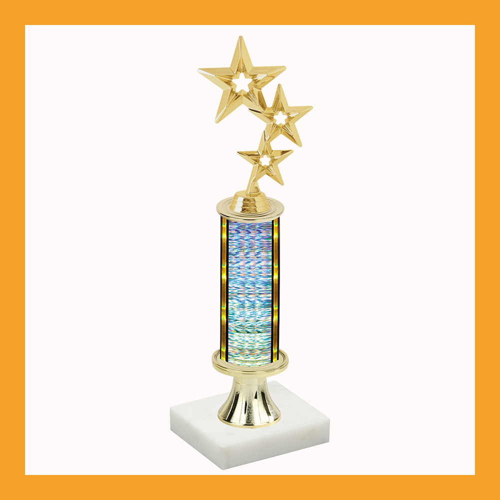 Star Pedestal Trophy