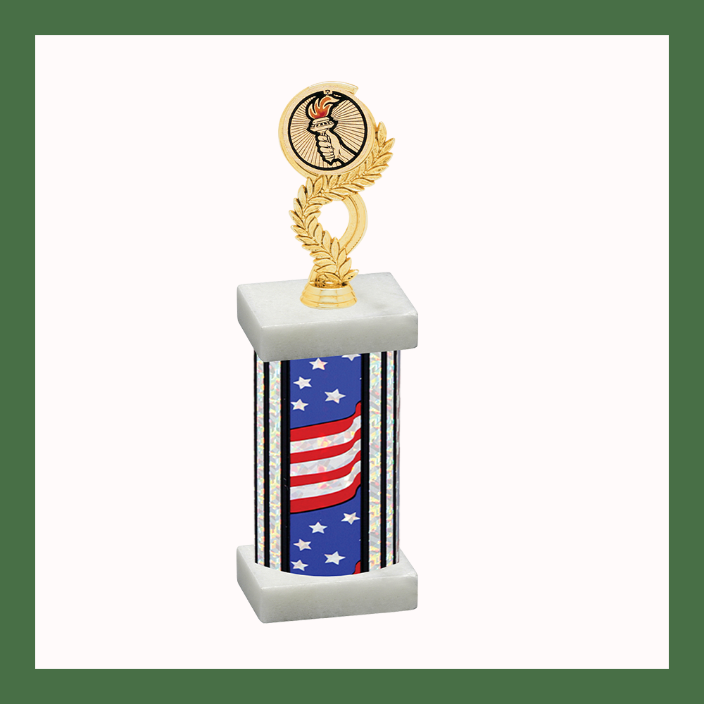 Victory Laurel Mylar Column Trophy