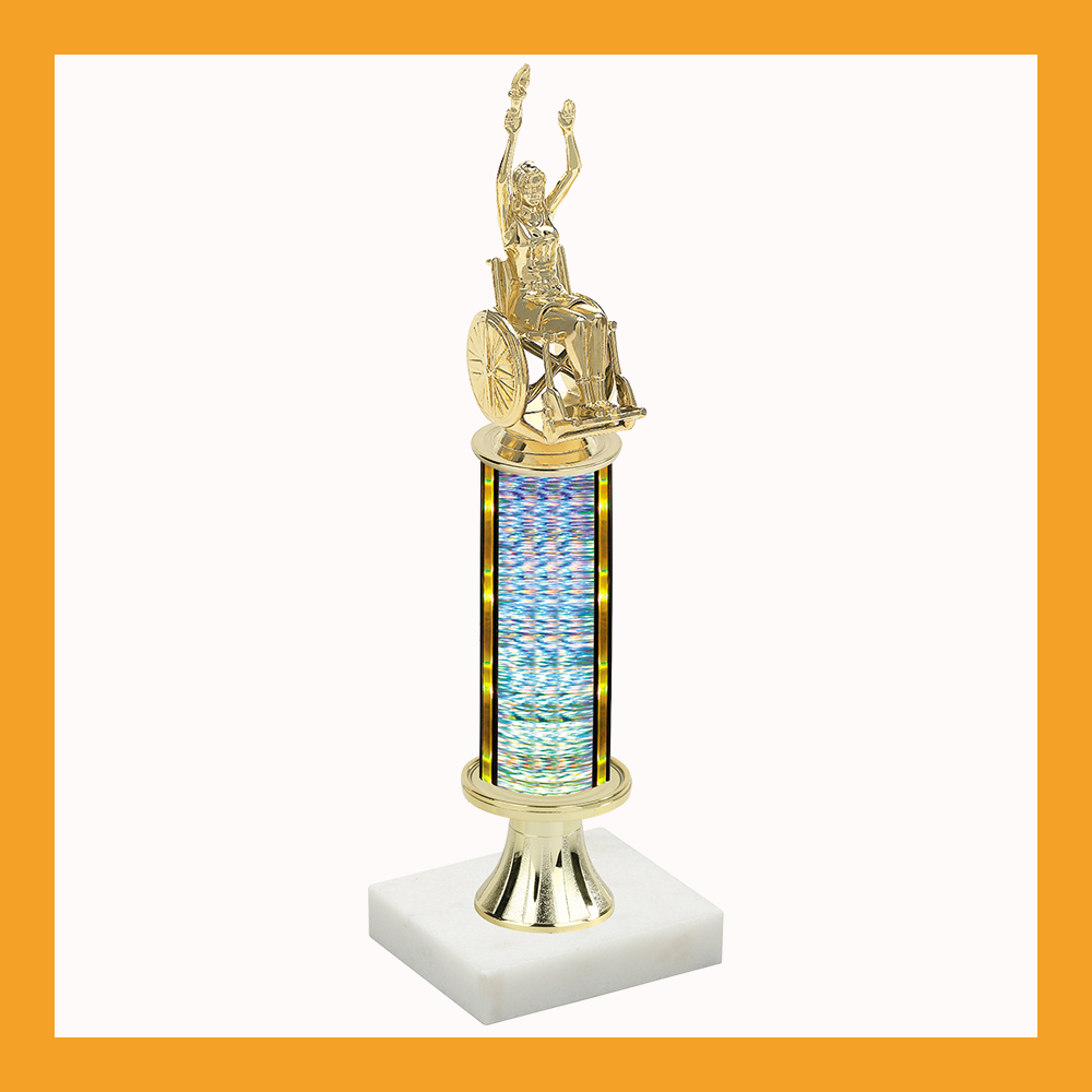 Wheelchair Pedestal Trophy
