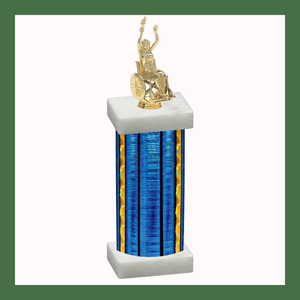 Wheelchair Column Trophy