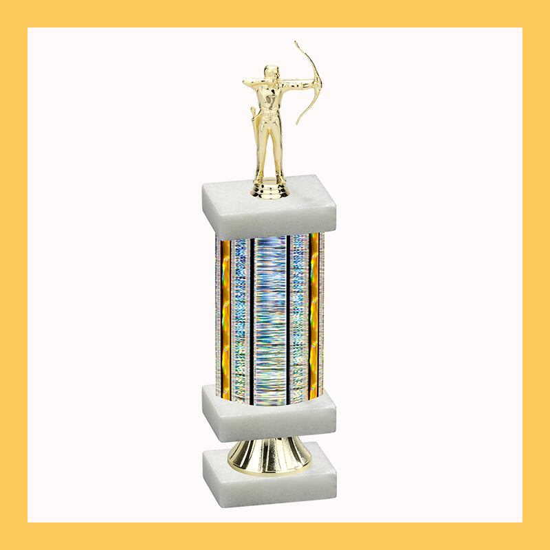 Archery Column Riser Trophy
