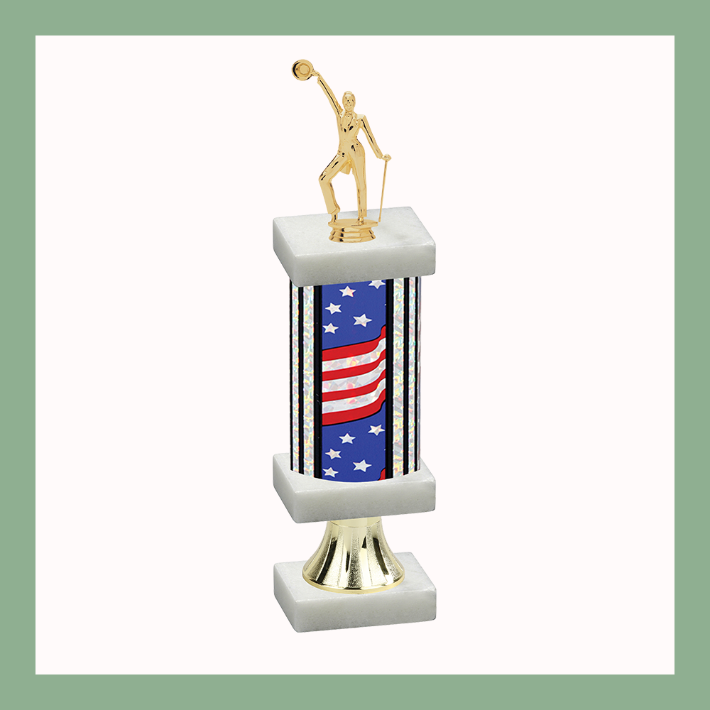 Dance Column Pedestal Trophy