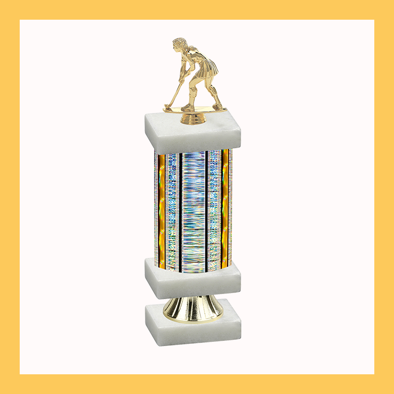 Field Hockey Column Riser Trophy