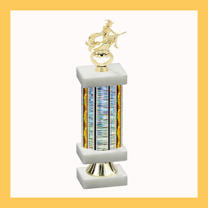 Holiday Column Riser Trophy