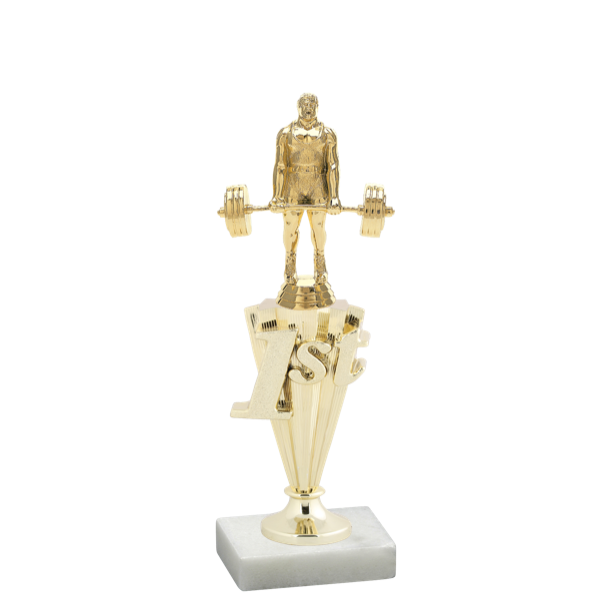 Weightlifting and Wrestling Place Trophy - Customer's Product with price 9.85 ID XiXg2p4UjWSwyF1r3Eey0ohm