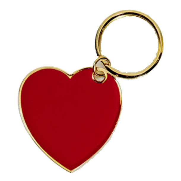 Heart for Frontline Heroes Keychain - Customer's Product with price 19.00 ID h5LT0CD2X-BIxdJhZYcoPA8d