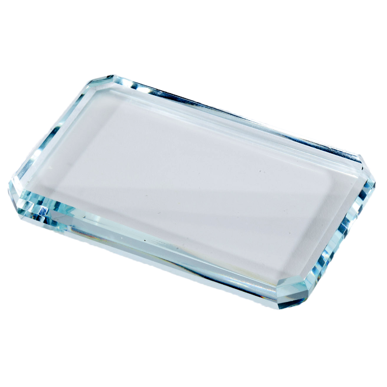 Rectangular Crystal Paperweight - Customer's Product with price 54.00 ID jVtOnHmMSDkLf3yYbMCEWW1M