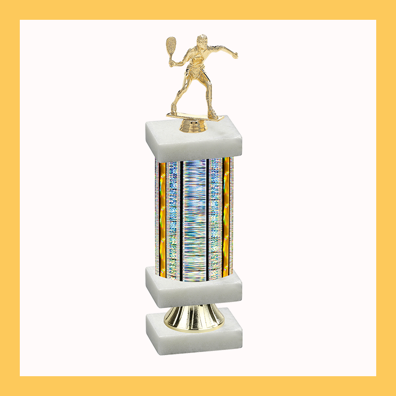 Racquetball Column Riser Trophy