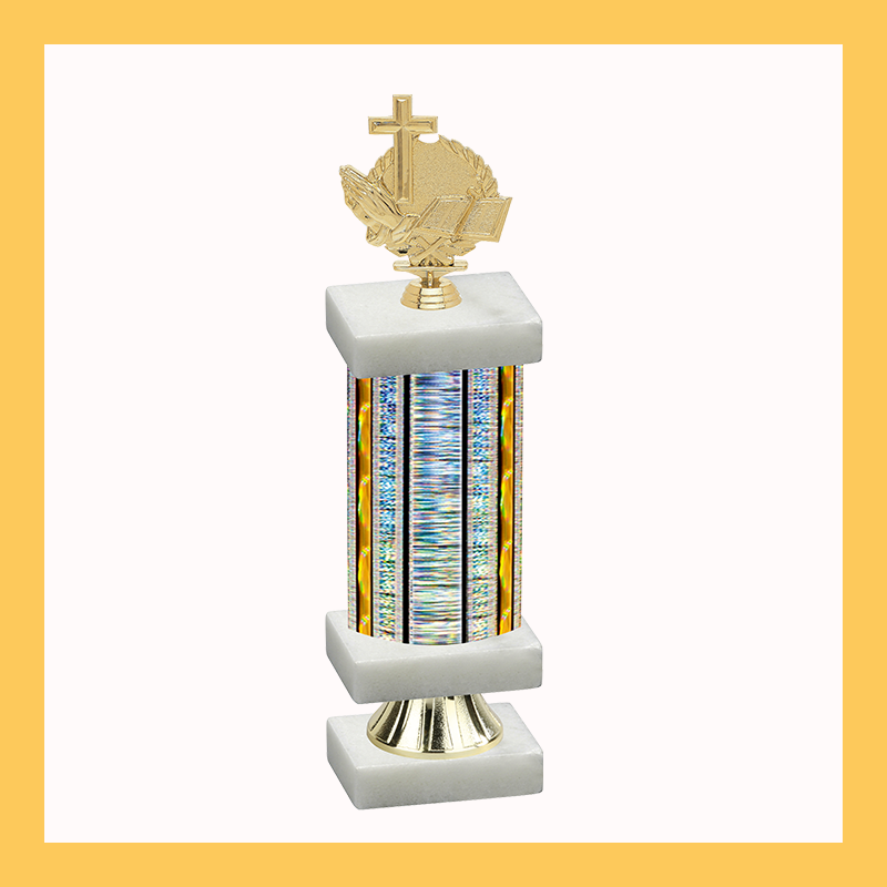 Religion Column Riser Trophy