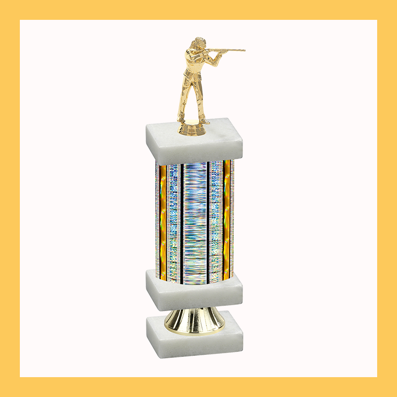 Shooting Column Riser Trophy