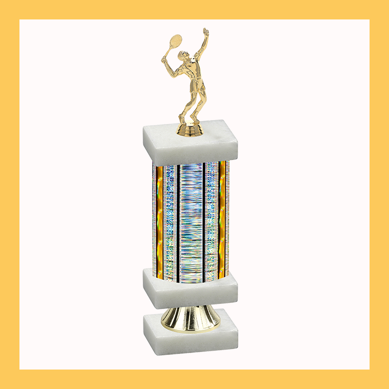 Tennis & Table Tennis Column Riser Trophy