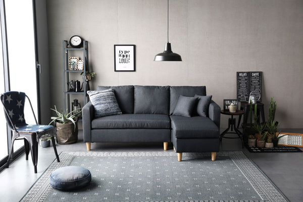 Sumi Sectional - Ink Gray