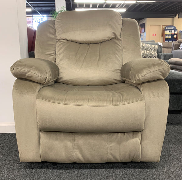 Power Recliner w/ Power Headrest - Mushroom