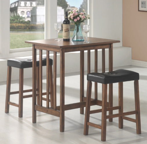 130004 3 Piece Counter Height Dinette Set