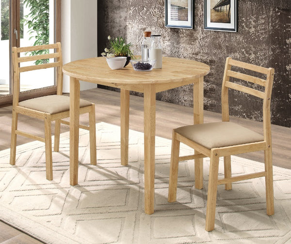 130006 3 Piece Dinette Set w/ Drop Leaf