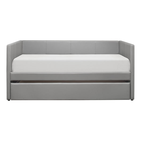 Adra Daybed w/ Trundle - Gray