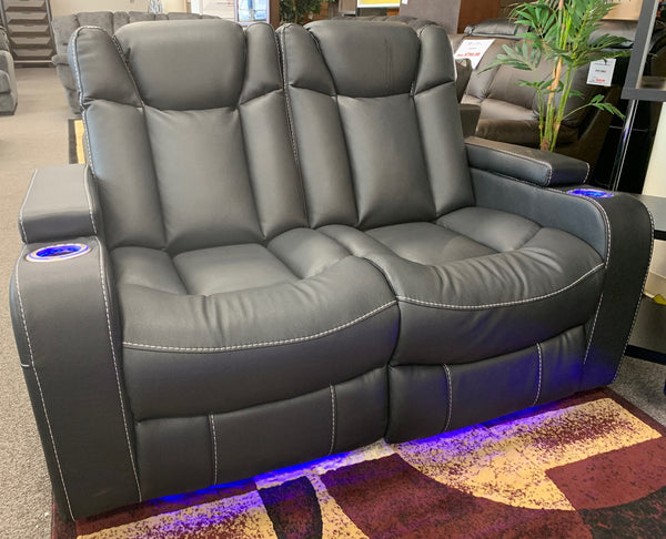 NX5560 Power Reclining Sofa and Loveseat Set
