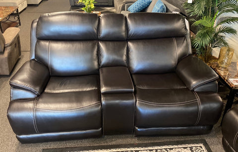 US90007 Power Reclining Console Loveseat