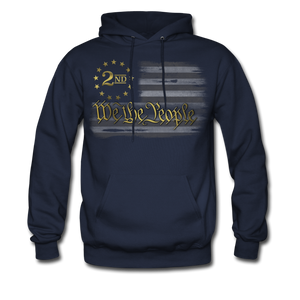Defend The 2nd Hoodie - navy