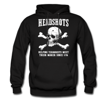 Load image into Gallery viewer, Headshots Hoodie - black