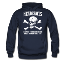 Load image into Gallery viewer, Headshots Hoodie - navy