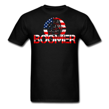 Load image into Gallery viewer, Boomer Flag T-Shirt - black