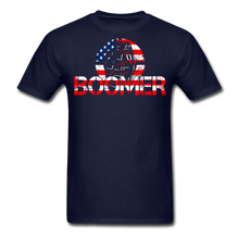 Load image into Gallery viewer, Boomer Flag T-Shirt - navy