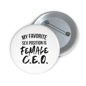Boss Bitch Pin Buttons