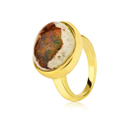FRIDA MEXICAN OPAL RINGS