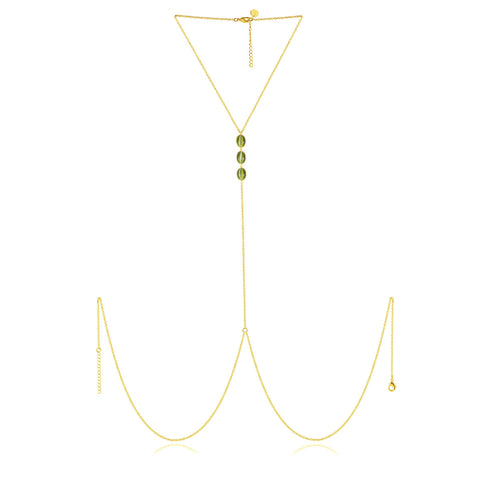 AMAZON GOLD BODY CAT CHAIN