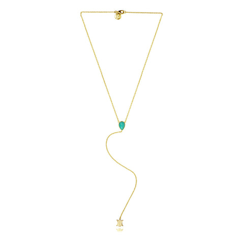 KILLARI NEVADA GOLD NECKLACE