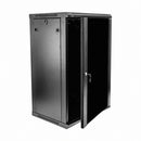 EussoNet 18U Server Cabinet  Front Glass -  Rear Metal MS-EJS6818-GM