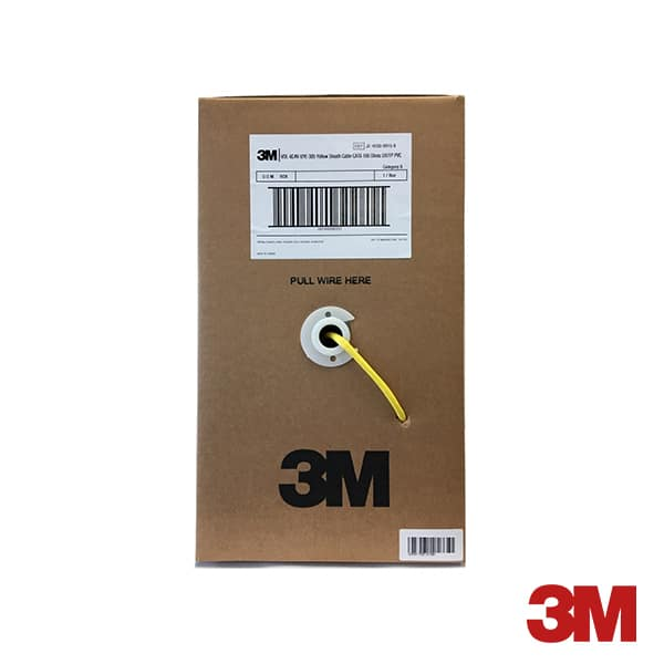 3M UTP CAT6 Cable Roll 305Meter (24AWG) - XE-0053-1960-5