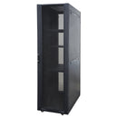 EussoNet 42U - W600*D800 - Front Glass - Rear Perforated Server Cabinet MS-EJS6842-GP