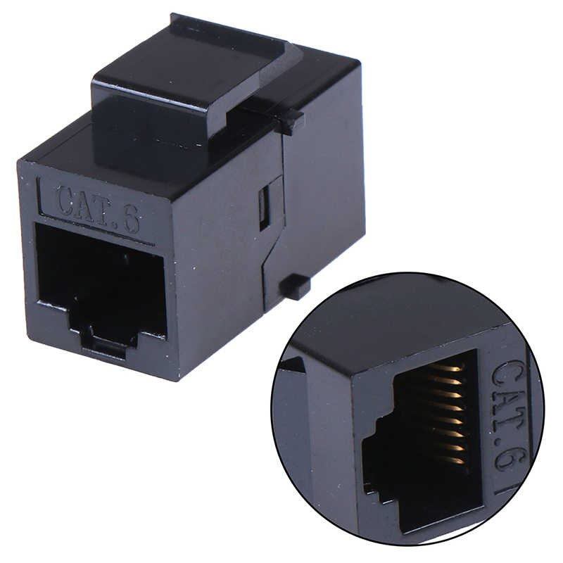 RJ45 Join (in-line Coupler for CAT5e/CAT6) - IW-JU56